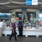 Die Fleischhalle im Zentrum des Basars